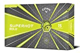 Callaway Golf Superhot Bold Matte Golf Balls Prior Generation (Yellow)