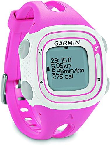 Garmin GPS Lauf-Uhr Forerunner 10, pink/weiß, 010-01039-05