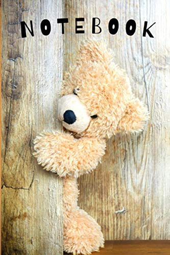 Notebook: Journal Toy Teddy Bear Boys Girls Kids Teens Students for Back to School and Home College Office Writing Notes (Notebook - Toys)