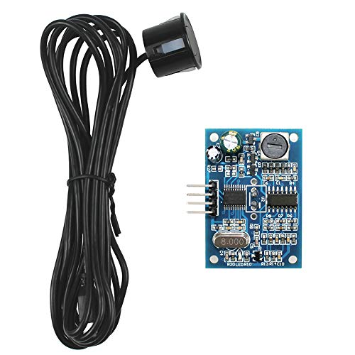 KeeYees JSN-SR04T Integrated Ultrasonic Distance Sensor Module Waterproof Ultrasonic Transducer Probe with 2.5M Cable for Arduino