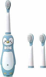 FDHT Elektryczna szczoteczka do zębów dla dziecka, kreskówka typ wielokrotnego ładowania, odpowiednia dla dzieci w wieku ...