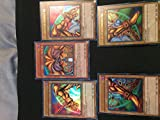 YuGiOh Exodia the Forbidden One Full Card Set Yugi Legendary Decks Set Ultra Rare