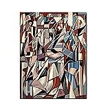 Tamara de lempicka The Reader III impresiones de pintura lienzo cuadros de pared para Decoracion del hogar 50x70 cm x1 sin marco