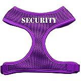 Mirage Security Design - Arnés para Perro de Malla Suave, pequeño, Color Morado