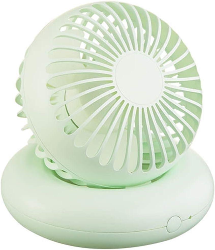 Bargain sale HXB Desktop Fan Large-scale sale Mini Rechargeable USB Lif Battery and Long Fresh