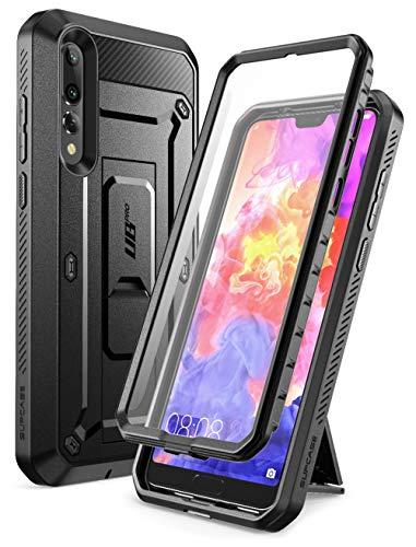 SupCase Funda Huawei P20 Pro [UB Pro] 360 Grados Case con Soporte y Protector de Pantalla Incorporado para Huawei P20 Pro 2018 Negro