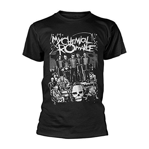 My Chemical Romance T-Shirt Dead Parade da Uomo in Nero