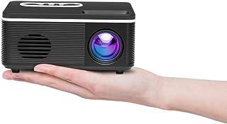 أنظمة المسرح المنزلي JHMJHM S361 80 لومن 480x320 بكسل جهاز عرض صغير محمول، يدعم 1080P، قابس الطاقة: قابس AU (أبيض) جهاز عر...