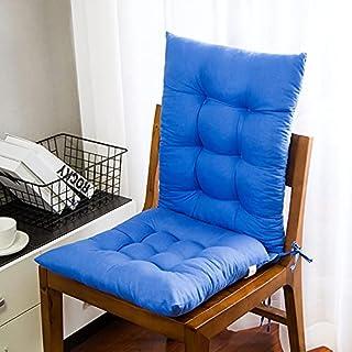 MIAE Cojines de Patio Cojines de Asiento para sillas al Aire Libre Love Sofa, Lounge Cojines de Silla Mecedora de Interior Zero Gravity, para Banco de Muebles de jardín,Azul
