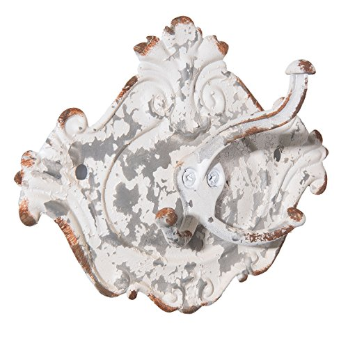 Clayre & Eef 6Y2593 - Gancio da Parete, 16 x 7 x 12 cm