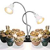 Clip on Grow Lights,ACKE Plant Light Full Spectrum,LED Clamp Spotlight with Timer for Indoor Plants...