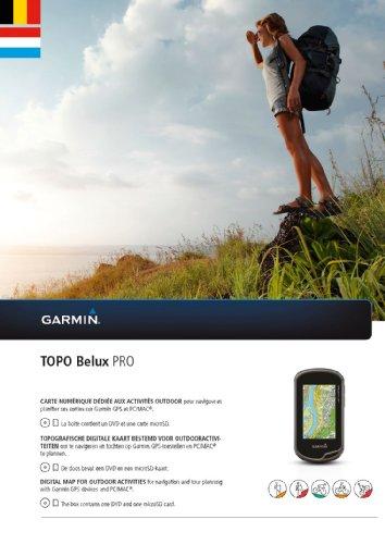 Garmin Karte Topo Belux Pro, 010-12012-00