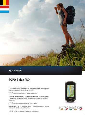 Garmin TOPO BeLux PRO (DVD et microSD/SD)