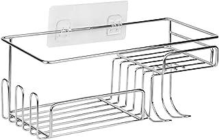 Soporte s/ólido de acero inoxidable para ba/ño o ducha marca Konhard de acero cepillado CS004