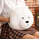1Pcs 35Cm Kawaii We Bare Bears Peluche Osito de Dibujos Animados Osito de Peluche Gris White Bear Panda Doll Niños Amor Regalo de cumpleaños, Decoración