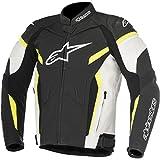 alpinestars(アルパインスターズ) バイクジャケット ブラック/ホワイト/イエローフロー (サイズ:50) GP プラス R レザージャケット 1692270350