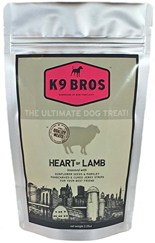 K9 Bros - Heart of Lamb - seasoned with Sunflower Seeds and Parsley (1 Pack)