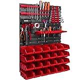 576 x 780 mm Wandregal Werkstatt Garage Lager Hobbyraum Werkzeughalter Stapelboxen...