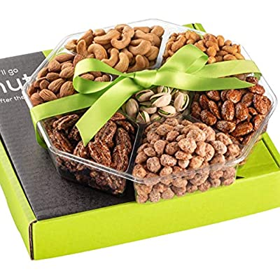 Amazon - Save 50%: Holiday Nuts Gift Basket – Extra Large 2LB – Sweet & Salty Dry Roasted Gourm…