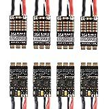 Crazepony-UK 4pcs 35A ESC BLHeli_32 32Bit Brushless ESC (Dshot1200) Electronic Speed Controller for FPV Multicopter Drone Quadcopter -