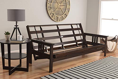 Excelsior Espresso Futon Frame |x| - Choose Full or Queen or Full w/Drawers (Full)