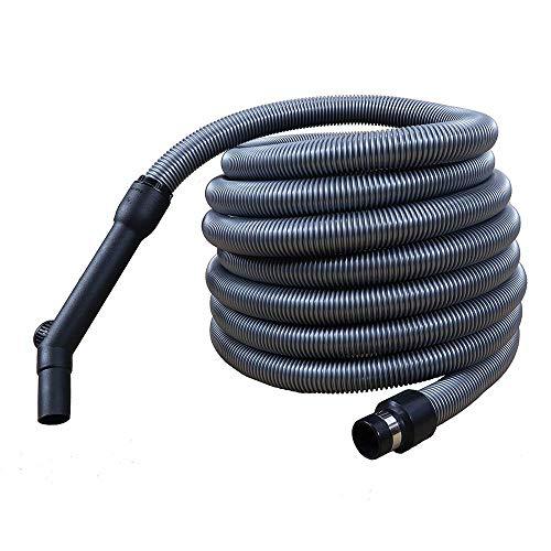 Tubo flessibile universale completo Ø32 per aspirapolvere centralizzato mt 9 (9)