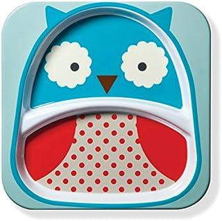 美国 SKIP HOP 可爱动物园餐具餐碟 猫头鹰 SH252154