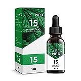 ALPEX-MED® Öl mit 15 Prozent Premium Terpen-Extrakt | 10ml Essential Tropfen mit Zertifikat enthält ungesättigte Omega Fettsäuren - 100% Vegan