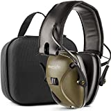 awesafe Electronic Shooting Earmuffs Hearing Protection with Sound Amplification and Suppression, Comes with Storage Case