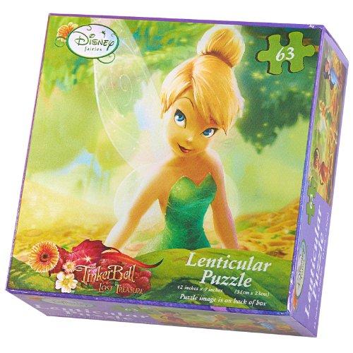 Disneys Fairies Lenticular Puzzle (1) Party Supplies