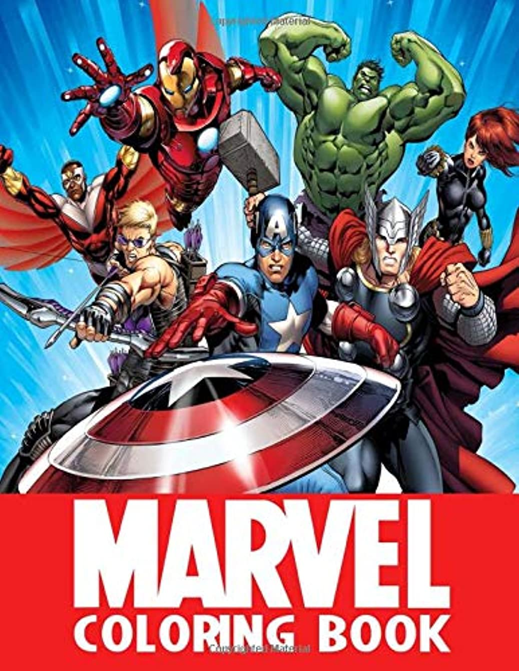 復活する含意テストMarvel Coloring Book: 52 Illustrations | All Heroes | Exclusive Book | Best Coloring Book | Ages 3-10 | Avengers | Super Heroes