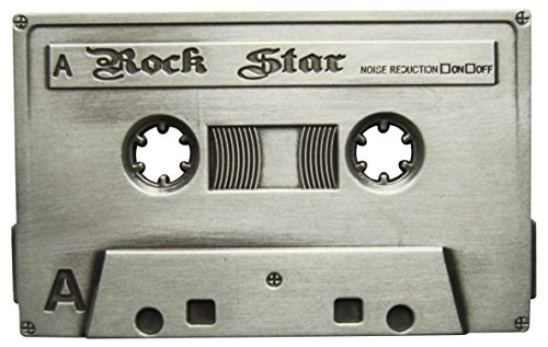 Spirit of Isis B58 Buckle Gürtelschnalle Musikkassette Rock Star
