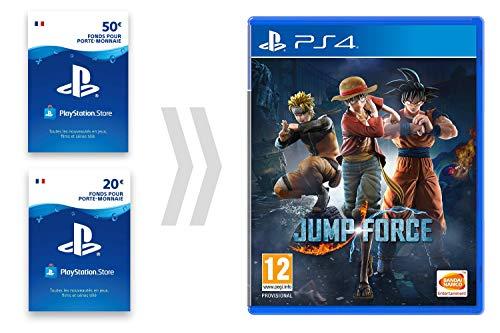 Carte PSN pour Jump Force - Standard Edition [PS4 Download Code - Compte français]