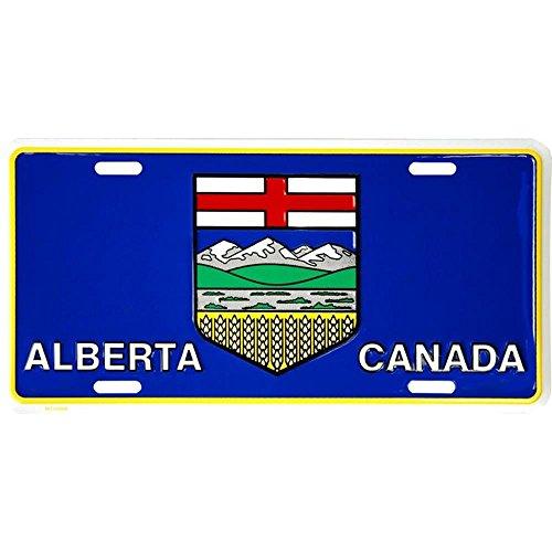 Schilder 4Fun Alberta Flagge License Plate