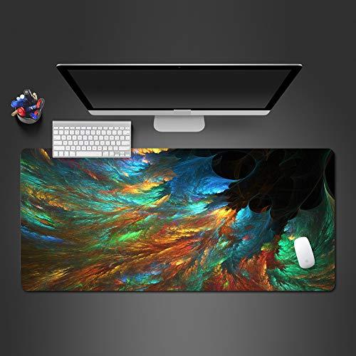 Pintura Personalizada Alfombrilla de ratón Avanzada Juego de Goma Alfombrilla de ratón Teclado de computadora Almohadilla de Juego Fresco Alfombrilla de ratón 600x300x2