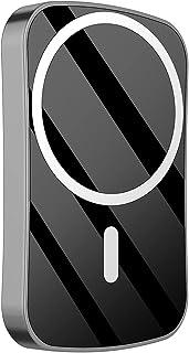 TWDYC 15 w magnetisk powerbank 10 000 mah, 20 wpd mobiltelefon snabbladdare, används för magsäker backup-strömförsörjning,...