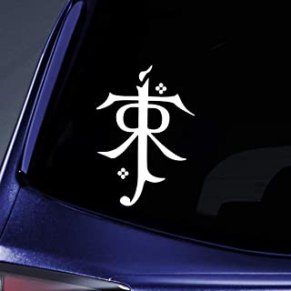 Bargain Max Decals - LOTR Tolkien Monogram Sticker Decal Notebook Car Laptop 5