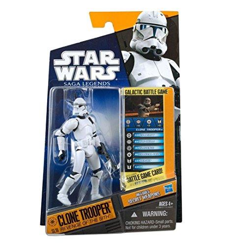 Clone Trooper - Revenge of the Sith Star Wars Saga Legends SL16