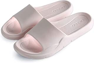 WINSHARE Shower Sandal Slippers - Quick Drying Bathrooom Gym Open Toe House Shoes
