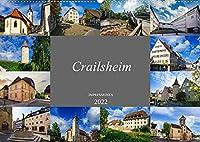 Crailsheim Impressionen (Wandkalender 2022 DIN A2 quer): Ein beeindruckender Bilderstreifzug durch Crailsheim (Monatskalender, 14 Seiten )