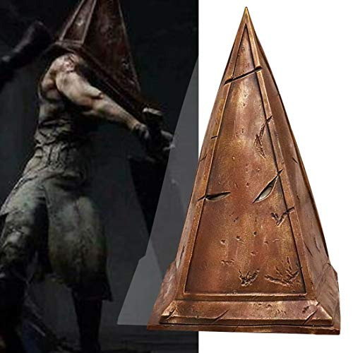 BeeUgy Dead by Daylight Mask Trappeur Butcher Masque Silent Hill Pyramid Latex Mask Halloween Horror Dead by Daylight Cosplay Costume Party Game Headgear Props