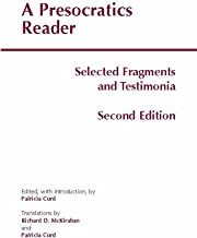 Best a presocratics reader Reviews