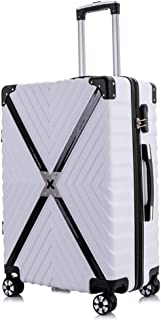 Men Womensuitcase,Trolley,Carry on Hand Cabin Luggage,Lightweight Shipping Box,Business Boarding with Lock and 4 Spinner Wheels,20 Inches24 Inches26 Inches Lightweight,A,20inches