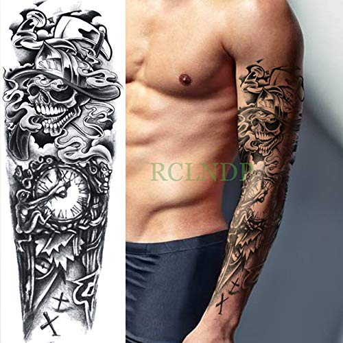 Wasserdichte Tattoo Applique Watch Cross Arm Ganzkörper Kunst Tattoo Tattoo