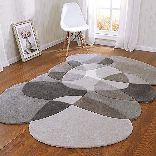 KK Zachary Rug Brown Scandinavian Moderner Couchtisch Schlafsofa Schlafzimmer Teppich Teppich Handgemachte Acryl Teppich 2m * 3m Minimalistisches Wohnzimmer (Size : 2 * 3m)