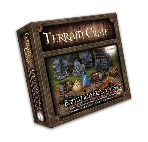 Mantic Games MGTC121 TerrainCrate: Obiettivi Battlefield, Multi