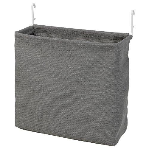 IKEA ASIA SKADIS Storage Bag, White, Grey