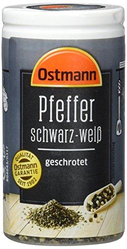 Ostmann Pfeffer schwarz-weiß geschrotet, 40 g