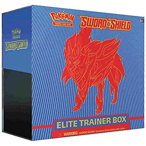 Pokemon TCG: Sword & Shield Zamazenta Elite Trainer Box