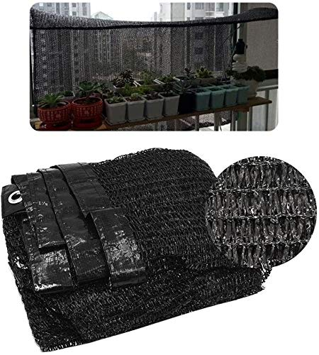 Camo net Shade Net, Shading Rate 85%, Outdoor Sun Screen, Garden Plant Greenhouse Cover, Summer UV Protection, Car Sun Cover, Black Awning, Shade Net, 2x3m Shade net (Size : 1 * 8m(3 * 26ft))